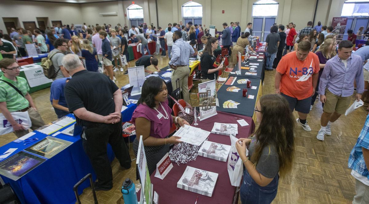 College fair photo.