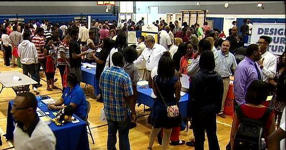 Students and Parents During Registration