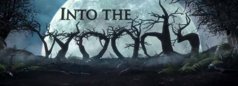 Poster for Into the Woods, the play.