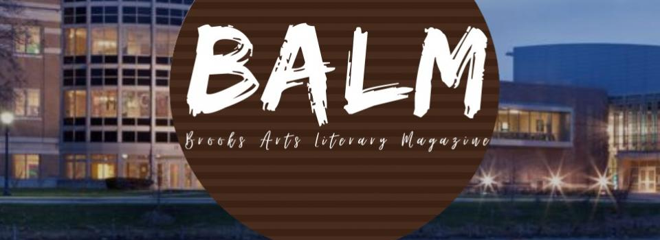 Icon of the BALM, Brooks Arts and Literary Magazine